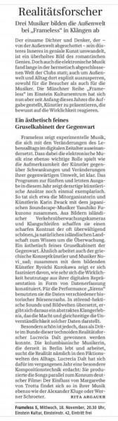Südeutsche Zeitung vom 14. November 2015